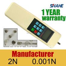 Free shipping 2N Digital force meter CE certificate digital force gauge force meter digital HF-2