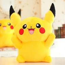 Free Shipping 22cm Special Offer Pikachu Plush Toys Very Cute go Plush Toys for Children's Gift Pikachu Plush Doll(China)