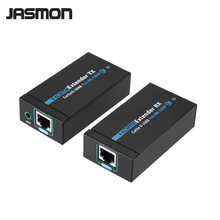 60M HDMI Extender 1080p 3D HDMI Transmitter Receiver over Cat 5e/6 RJ45 Ethernet Converter
