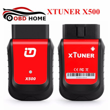 2017 New Design Automotive Scanner XTUNER X500 Bluetooth Diagnostic Tool For DPF ABS Airbag TPMS EPB Battery Maintenance(China)