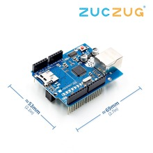 Ethernet Shield W5100 Network Expansion Board Module For Arduino Main Board UNO R3 ATMega 328 1280 MEGA2560 With Micro SD One(China)
