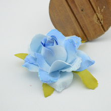 Free shipping 1pcs/lot cheap artificial simulation flowers silk  Gift decorative Wedding flower decoration Rose Wrist Flower