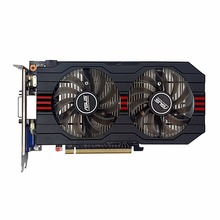 Used,original ASUS GTX750TI 2G DDR5 128bit Gaming Video Graphics Card,good condition,100% tested good!(China)