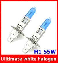 2PC Orignal germany diamond vision H1 12V Car Auto Head Lamp Super White 5000K 55W Halogen Xenon bulb Free Shipping LLL