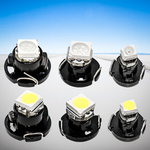 10pcs T3 T4.2 T4.7 LED Lamps 5050 SMD Car Dashboard Warning Indicator light Instrument Cluster Bulb white/red/blue/yellow/green(China)