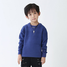 New 2017 Boys Sweaters Kids Pullover Knitted Sweaters for Boys Autumn Boys Cardigan Kids Knitted Wear Children Clothing(China)