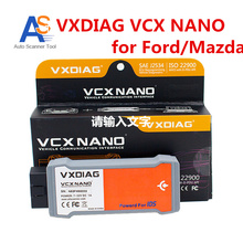 100% Original Stable Car Diagnostic Interface  VCX NANO V95  Read & Clear Diagnostic Trouble Codes For Ford/Mazda/Suzui 2 in 1
