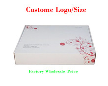 wholesale custom LOGO cloth shoe  gift corrugated paper packing box (free shipping),1000 pcs a lot ,different size