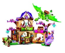 10504 Elves Secret Place parenting activity education model building blocks girls and children's toys compatible lepin