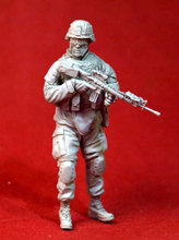 1/35 Resin Figure Model Kit Modern American -X84 Unassambled Unpainted(China)