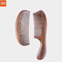 Best Gift Xiaomi Xinzhi Healthy Natural Log Comb No Static Pocket Wooden Comb Hand Made Professional Hair Styling Tool For Woman(China)