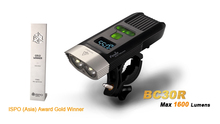Fenix BC30R Cree XM-L2 T6 LED high intensity bike light USB charger build-in lithium battery OLED screen free shipping(China)