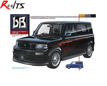 RealTS Tamiya 24224 Automotive Model 1/24 Scale Car Toyota bB Plastic Model Kit(China)