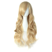 High Temperature Fiber Charming Blonde Long Wavy Costume Wig Hair (NBW0WG60014-BD2)