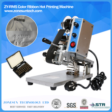 ZY-RM5 Color Ribbon Hot Printing Machine,Heat ribbon printer ,film bag date printer(220V/50Hz)