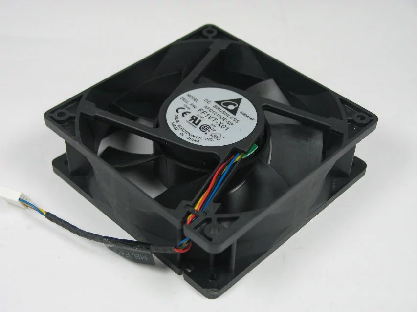 Delta AFC1212DE-SP FF1VT-X01 DC 12V 3.00A 120x120x38mm Server Square fan<br>