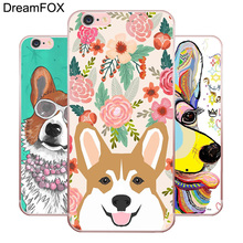 Buy DREAMFOX L386 Cute Corgi Dog Soft TPU Silicone Case Cover Apple iPhone 8 X 7 6 6S Plus 5 5S SE 5C 4 4S for $1.27 in AliExpress store