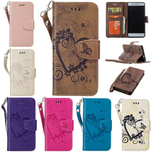 "2017 Luxury Case for Huawei Y6 2015 5.0"" PU+TPU Case for Huawei Y6 Y 6 2015 HuaweiY6 Love embossed mobile phone bag(China)"