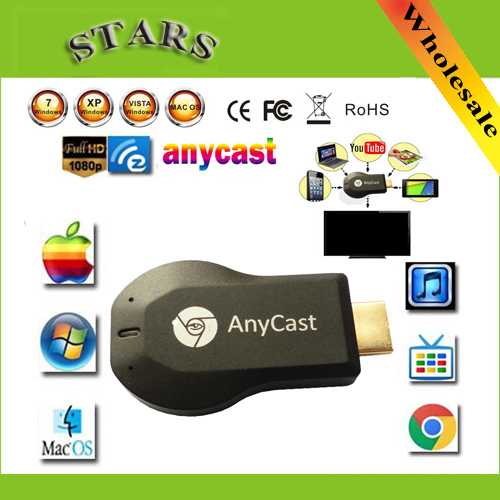 256M Anycast m2 iii ezcast miracast google chromecast hdmi 1080p tv stick wifi Display Receiver dongle for ios andriod<br><br>Aliexpress