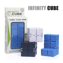 New Trend Creative Magic fidget cube antistress cube toys Office flip Cubic Puzzle puzzles & magic cubes(China)