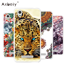 "For ZTE Blade X3 Case soft tpu Transparent Silicon Cover Cartoon flower dog Case For ZTE Blade X3 X 3 D2 5.0""Phone case fundas"