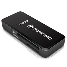 Transcend original high-speed reader USB3.0 2in1 RDF5 for SD/SDHC/SDXC Card Read & for mircoSD/mircoSDHC/mircoSDXC Card Read