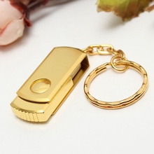 128MB USB Flash Drive Pen Drive USB 2.0 Stick Metal Memory Stick Disk Key Ring Flash Card USB Disk Pendrive For MAC PC Notebook