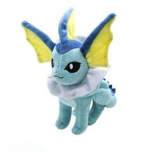 "Pikachu New 7"" Standing Vaporeon Plush Toy Doll"
