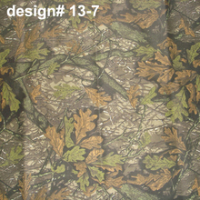 outdoor tent car cover material cloth poly cotton camouflage printed fabric bionic camouflage textile