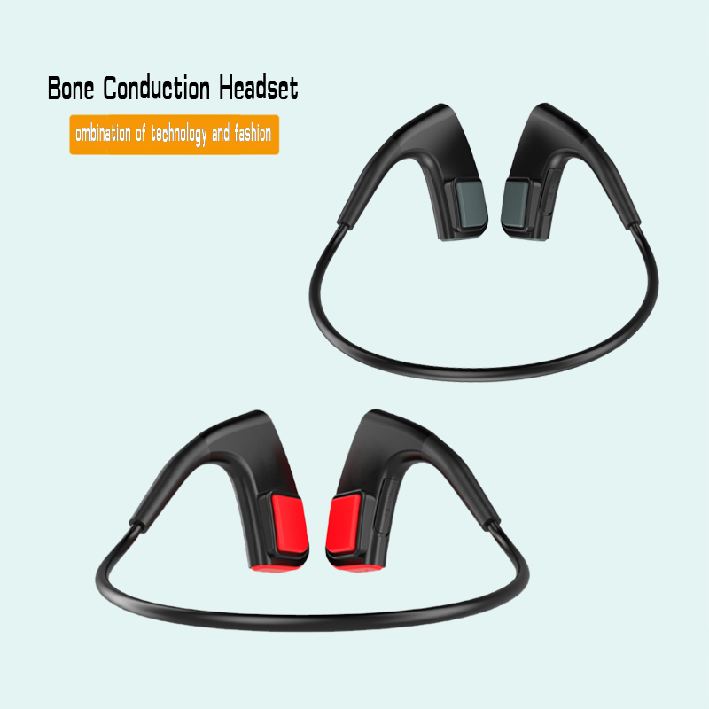 Bone Conduction Headset Wireless Bluetooth Outdoor Sports bass Headphone good durable high quality sports gym earphones running<br>