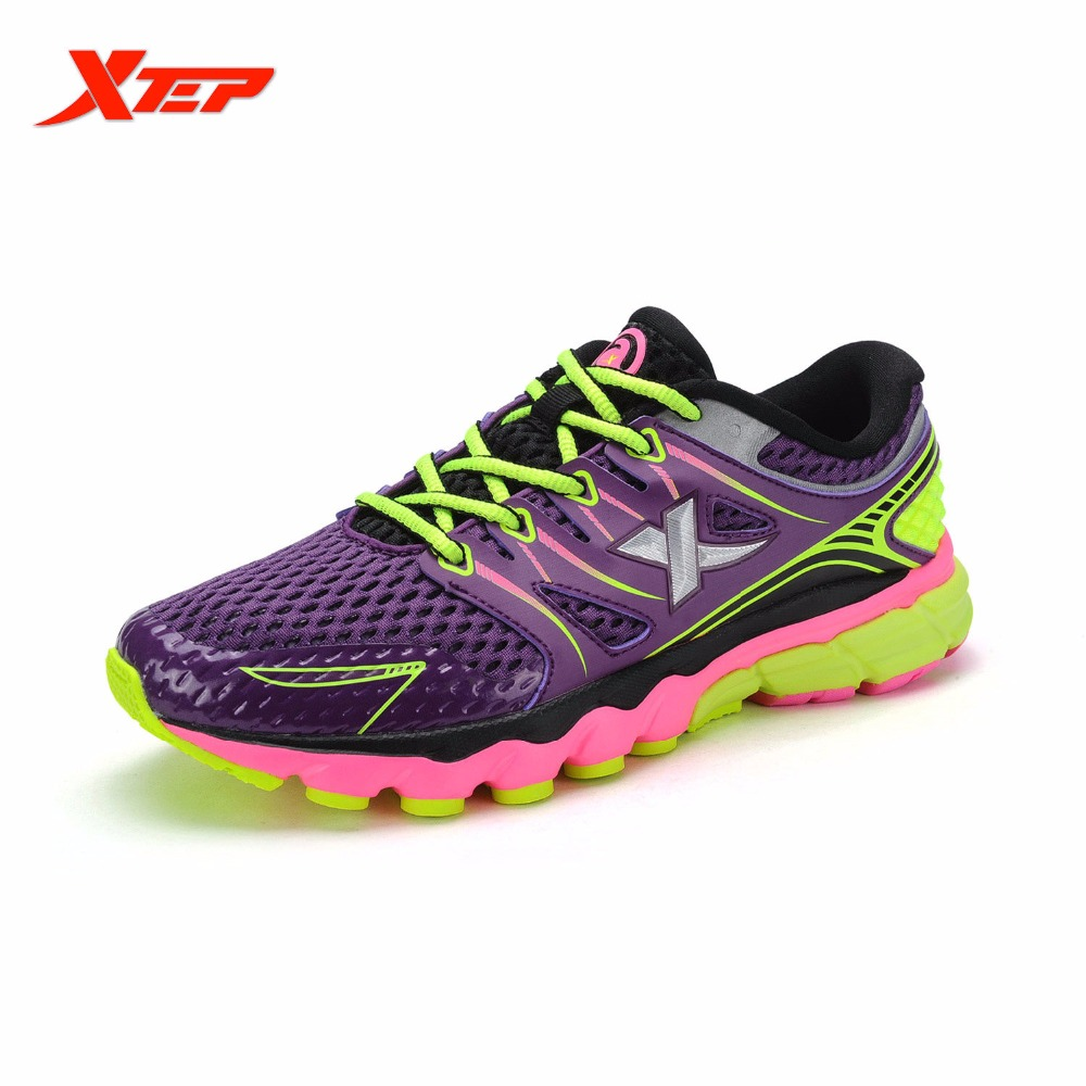 XTEP Brand 2016 New Summer Womens Running Shoes Sports Shoes Sneakers Ladies Trainers Outdoor Athletic Women Shoes 984218119513<br>