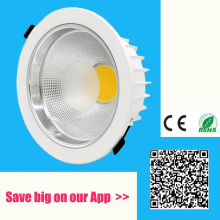 5w 7w 10w 12w 15w 20w 30w 60w 80W IP44 LED COB downlight Dimmable Recessed LED Ceiling Lamp Spot Light White/warm led lamp cree