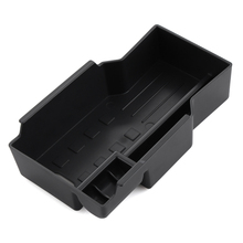Car Styling ABS Central Armrest Storage Box Pallet Container For Suzuki SX4 S-Cross SCROSS 2016 Auto Accessories(China)