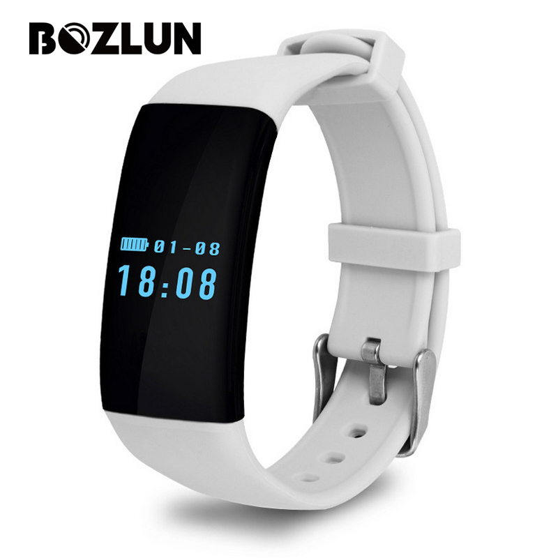 BOZLUN D21 Heart Rate Monitor Touch Smart Wristband Waterproof Bracelet Health Call Reminder Alarm Watches for Android and ios<br><br>Aliexpress