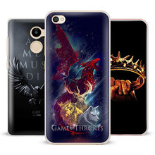 Game of Thrones GOT logo Coque Phone Case Shell Cover For Xiaomi Redmi Note 2 3 4 4X 5A Pro Mi 4 5 5S Plus 5X 6 MiA1 Minote 2 3(China)