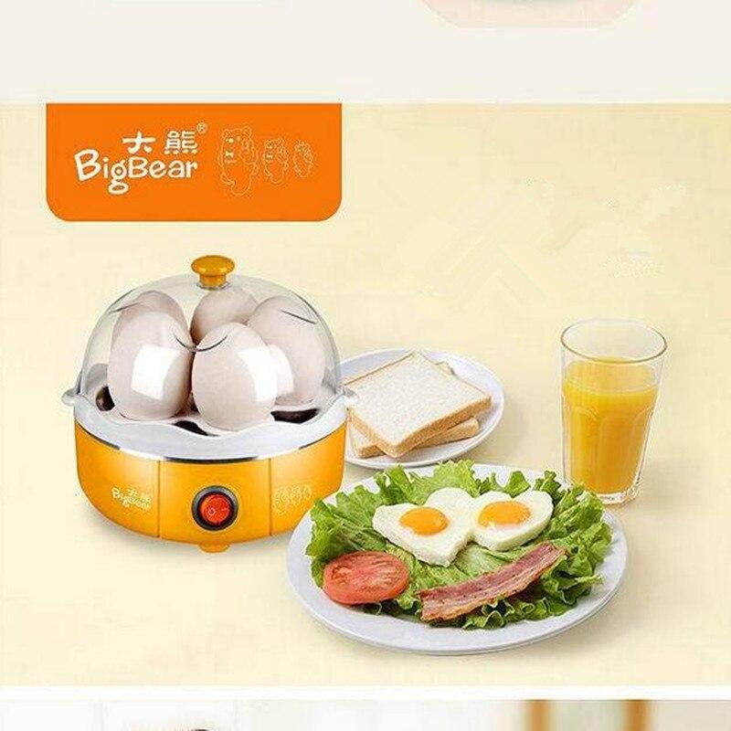 220V Bigbear Multifunction Electric Egg Cooker Mini Egg Boiler Egg Steamer 5pcs Steamed Egg Custard For Breakfast<br><br>Aliexpress