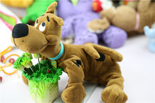 High Quality Soft Plush Cute Scooby Doo Dog Dolls Stuffed Toy New 28cm