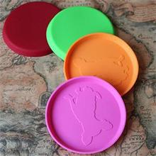 1PC Home Garden Pet Dog Cat Play Treat Training Funny Flying Saucer Frisbee Disc Ourdoor Large Dog Toys