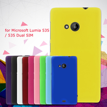 Phone Cover for Nokia Lumia 535 Dual Cases Rubberized Plastic Case for Microsoft Lumia 535 / 535 Dual SIM Covers Shell Gel