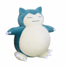 30cm-45cm Snorlax high qualit Plush Toy kawaii Plush Anime Soft Stuffed Animal Doll For Kid Gif doll Children's Day Gift