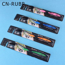 CN-RUBR Beauty Bamboo Charcoal Toothbrush Soft Bristle Toothbrush Care For Your Teeth Multicolor For You Choose