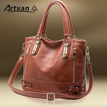 Hot Sale New 2017 Fashion Brand Split Leather Handbag Women Vintage Tote Cow Shoulder Messenger Bag DJ14