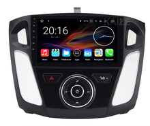 Quad Core 1024*600 Android 7.1 Car DVD Player Radio for Ford Focus 3 2012 2013 2014 2015 with BT Wifi GPS