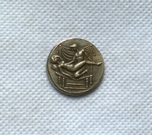 Type:#15 GREEK ROMAN SPINTRIAE EROTIC TOKENS MEDAL BIRTHDAY SEX SEXUAL(China)