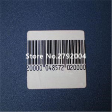 20000pcs/lot EAS soft label 40*40mm, RF 8.2mhz, RF soft label, EAS sticker
