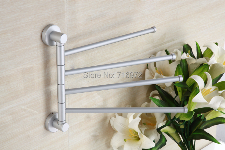 New Style Free Shipping Wall Mounted Four Layers Economy Type(27.5cm), Towel Holder,Towel Bar,Bathroom Accessories-Wholesale8041<br><br>Aliexpress