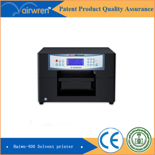 High Quality Small  Format Eco Solvent Printer Flatbed Inkjet Printing Machine for Wood