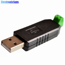 1Pcs USB to RS485 485 Converter Adapter Compitable USB 2.0 USB 1.1 Support Win7 XP Vista Linux Max 1200M Communication Distance