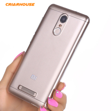 Transparent Crystal Hard Pc Plastic Clean Back Case Cover For Xiaomi Redmi Hongmi Note 2 3 4 Pro Prime Note3 Note4 Phone Cases