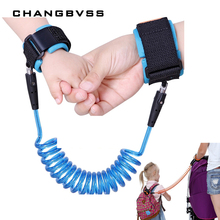 6 Colors Anti-lost Toddler Harness Leash Wrist Belt,Baby Walking Assistant,harnais enfant,Baby Walking Belt Adjustable Strap(China)